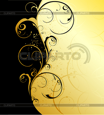 Floral wave   Stock Vector Graphics  ID 3272867