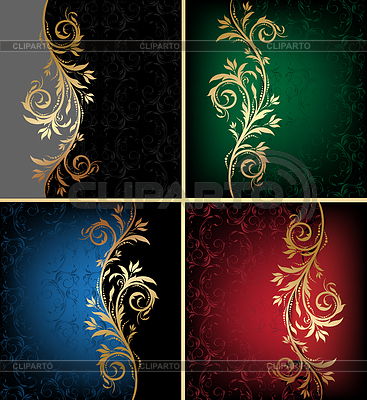 Floral backgrounds | Stock Vector Graphics |ID 3273408