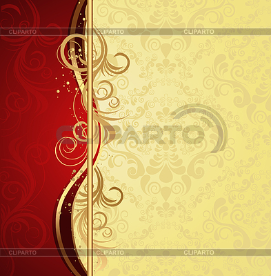 Floral wave and ornament | Stock Vector Graphics |ID 3273502