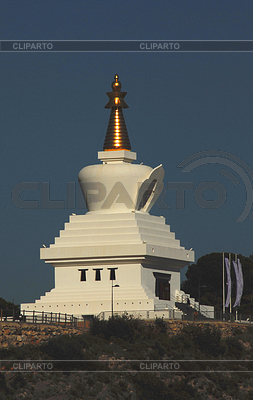 Buddhist stupa in Benalmádena (Spain) | High resolution stock photo |ID 3226339
