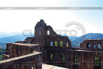 Castle ruins Hohenbaden in Baden-Baden | High resolution stock photo |ID 3226572