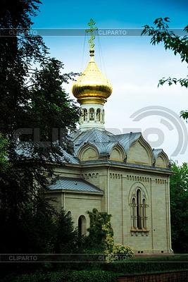 Rosyjski Kościół w Baden-Baden | Foto stockowe wysokiej rozdzielczości |ID 3226573
