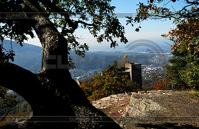 Castle Hohenbaden in Black forest | High resolution stock photo |ID 3226574