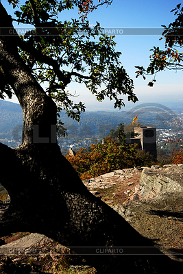 Castle Hohenbaden in Black forest | High resolution stock photo |ID 3226575