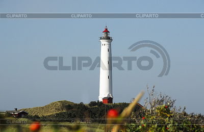 Lighthouse in Denmark | High resolution stock photo |ID 3227995