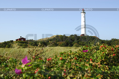 Lighthouse in Denmark | High resolution stock photo |ID 3227996
