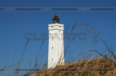 Lighthouse in Denmark   High resolution stock photo  ID 3228006