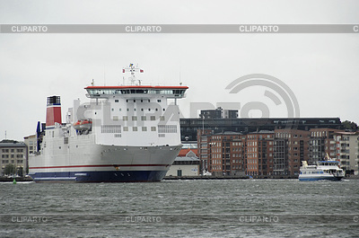 Car ferry in the harbor of Copenhagen | High resolution stock photo |ID 3228064