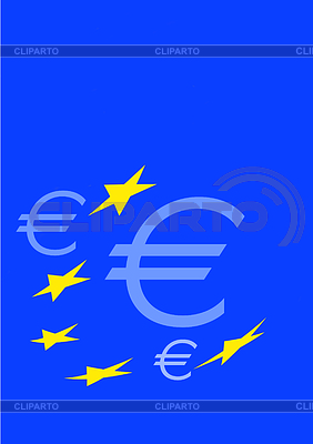 Euro signs and Europe stars | High resolution stock illustration |ID 3228113