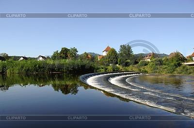 Водный перекат в Гаггенау | Фото большого размера |ID 3229841