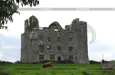 Развалины замка в Ирландии | Фото большого размера |ID 3232902