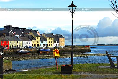Schiffsanlegestelle bei Ebbe in Irland | Foto mit hoher Auflösung |ID 3237460