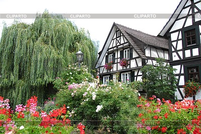 Half-timbered house in Schwarzwald | High resolution stock photo |ID 3284350
