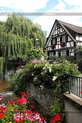 Half-timbered house in Schwarzwald | High resolution stock photo |ID 3284351