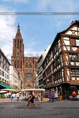 Strasbourg Cathedral | High resolution stock photo |ID 3289535