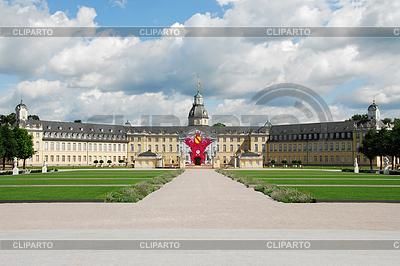 Barockschloss Karlsruhe | Foto mit hoher Auflösung |ID 3353275