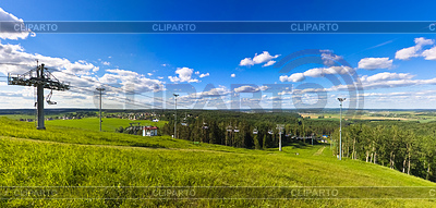 Ski lift   High resolution stock photo  ID 3226620