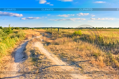 Dusty road   High resolution stock photo  ID 3227488