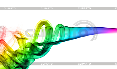 Abstract colorful swirls of smoke | High resolution stock illustration |ID 3236588
