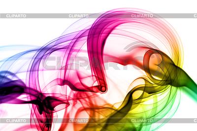 Abstract colorful magic smoke shape   High resolution stock illustration  ID 3236898