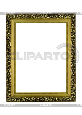 Empty golden frame | High resolution stock photo |ID 3292968