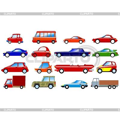 Big set of different symbolic cars | Stock Vector Graphics |ID 3234797
