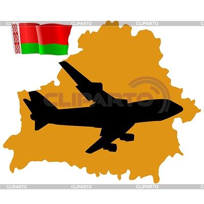Fly me to Weißrussland | Stock Vektorgrafik |ID 3236735