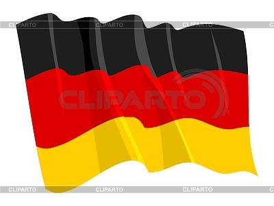 Waving flag of Germany | Stock Vector Graphics |ID 3250711