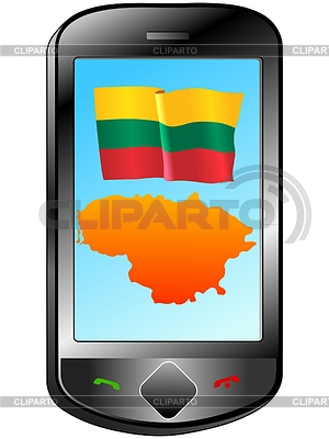 Connection with Lithuania   Stock Vector Graphics  ID 3251552