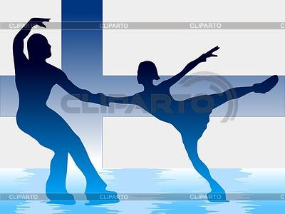 Paar Eiskunstlauf | Stock Vektorgrafik |ID 3257178
