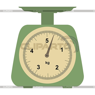 Domestic weigh-scales   Stock Vector Graphics  ID 3267718