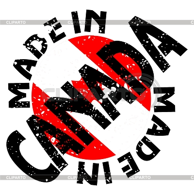 Label Made in Canada | Stock Vector Graphics |ID 3274223