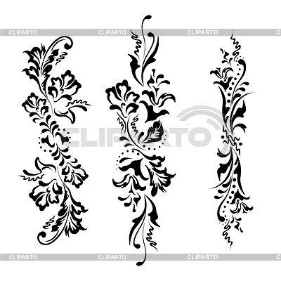 Flower ornaments | Stock Vector Graphics |ID 3250770