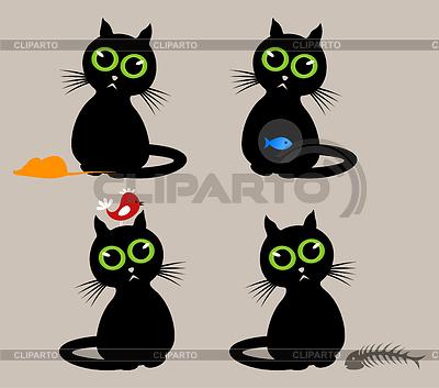 Black cat | Stock Vector Graphics |ID 3257494