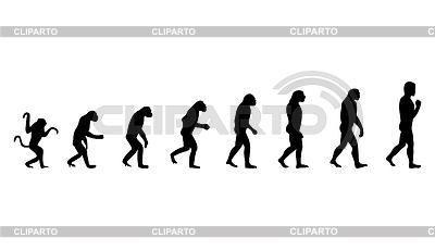 인간의 진화 | 벡터 클립 아트 |ID 3257542