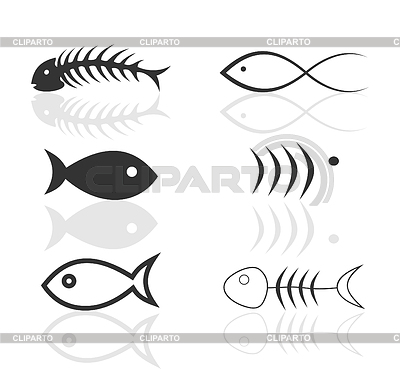 Icon of fish | Stock Vector Graphics |ID 3259659