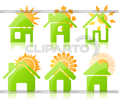 House icons | Stock Vector Graphics |ID 3260119