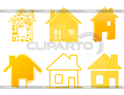 House icons | Stock Vector Graphics |ID 3260121