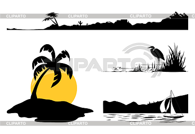Landscapes | Stock Vector Graphics |ID 3261458