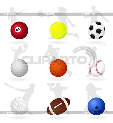 Sports balls | Stock Vector Graphics |ID 3262071