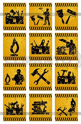 Arbeiter-Icons | Stock Vektorgrafik |ID 3262337