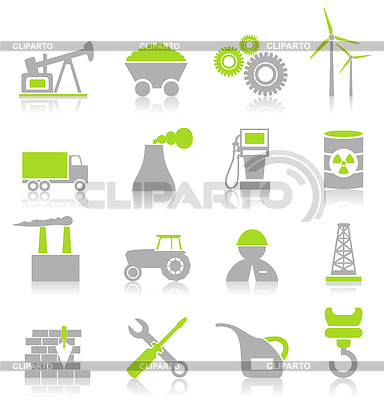 Industrial icons   Stock Vector Graphics  ID 3274496