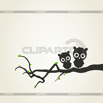 Small owls | Stock Vector Graphics |ID 3290235