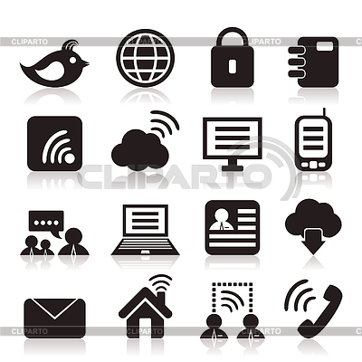 Communication icons   Stock Vector Graphics  ID 3295763