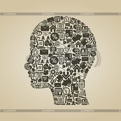 Business head | Stock Vector Graphics |ID 3329851