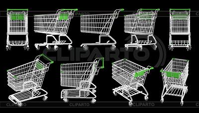 Warenkörbe | Illustration mit hoher Auflösung |ID 3346452