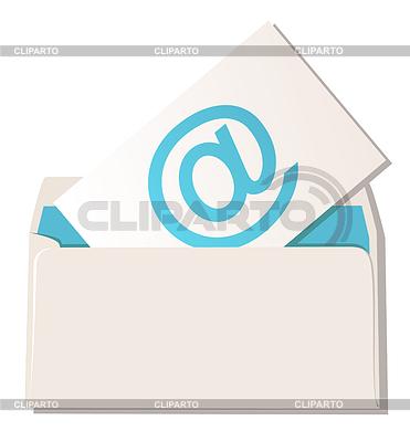 Briefumschlag mit E-Mail-Symbol | Stock Vektorgrafik |ID 3277383