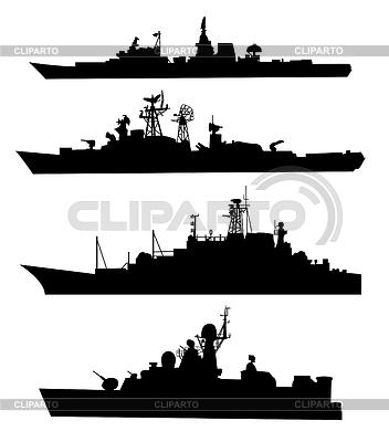 Schiff Silhouetten | Stock Vektorgrafik |ID 3279666