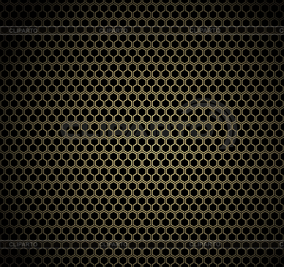Gold honeycomb background   Stock Vector Graphics  ID 3370971