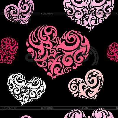Miłość bez szwu tła | Klipart wektorowy |ID 3280442